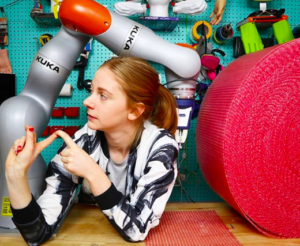 Simone Giertz's Ted Talk Discusses Building Useless Things ...