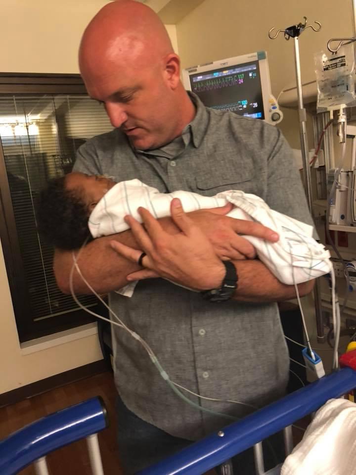 Deputy Jeremie Nix saves baby