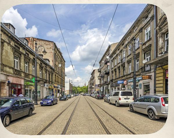 Nowomiejska Street In poland
