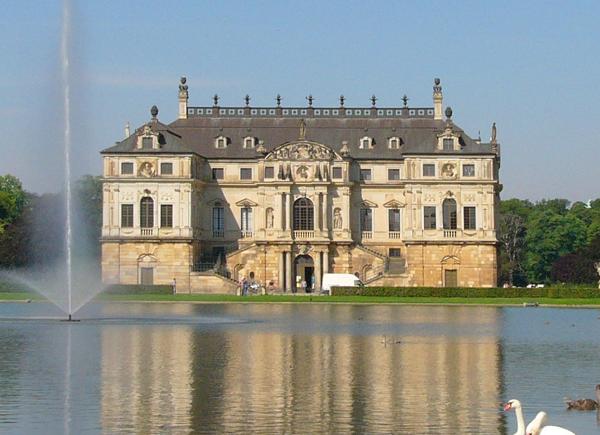 Palais Im Groben Garten in Dresden, Germany