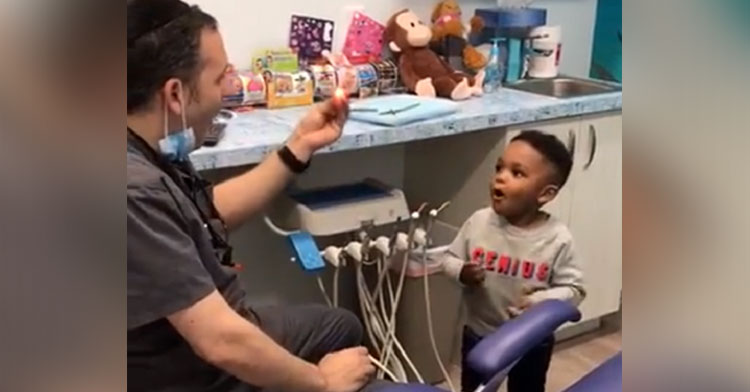 eyal simchi magic dentist