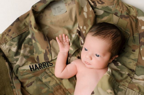 Christian Harris baby