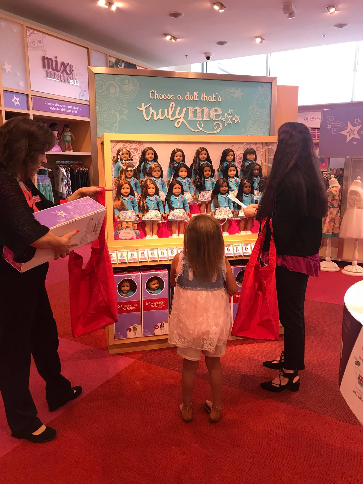 Brinley Williams American Girl donations