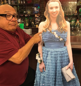 danny and allison cutout