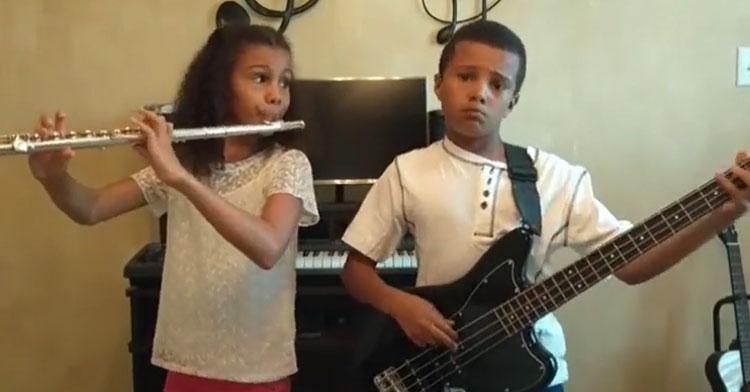 9 & 10-Yr-Old Siblings Cover