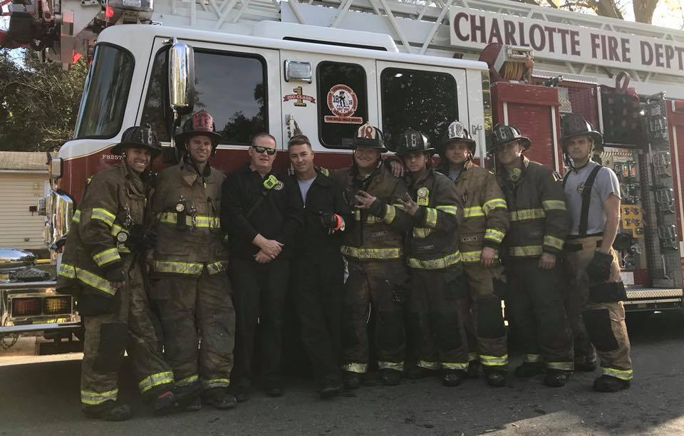 North Carolina Firefighters Help Local Kids With Pool Inspiremore