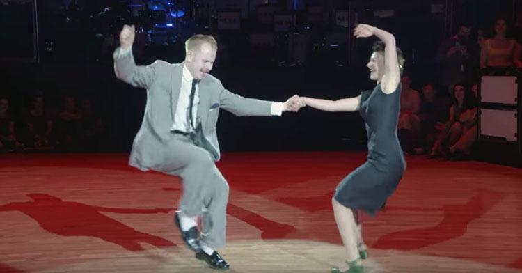 Couple Dances To Hey Baby In Munich Swing Dance