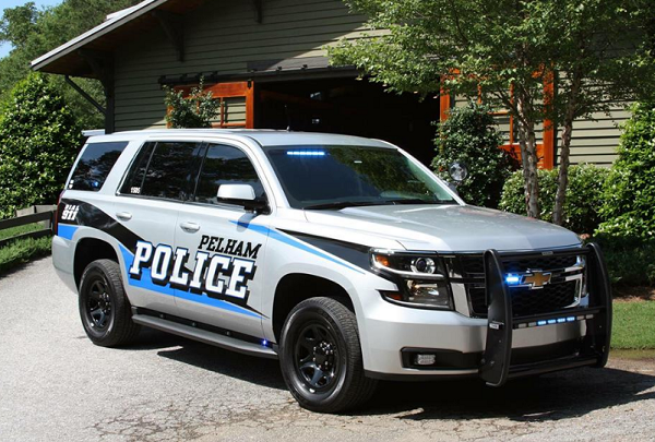Pelham Alabama police car