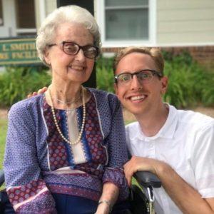 trevor and grandmother