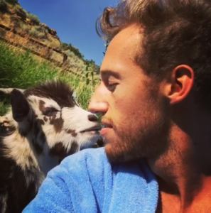 bae goat kissing