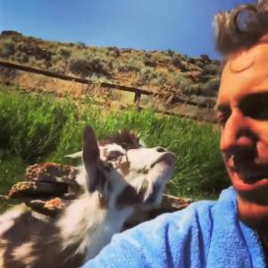 bae goat spitting