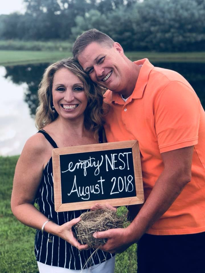Jeff and Vicky Piper empty nest picture