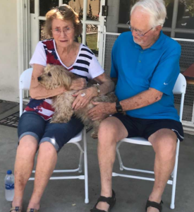 grandma and grandpa and fenton