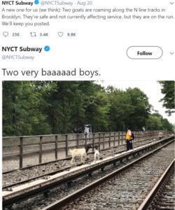 nyct subway tweet