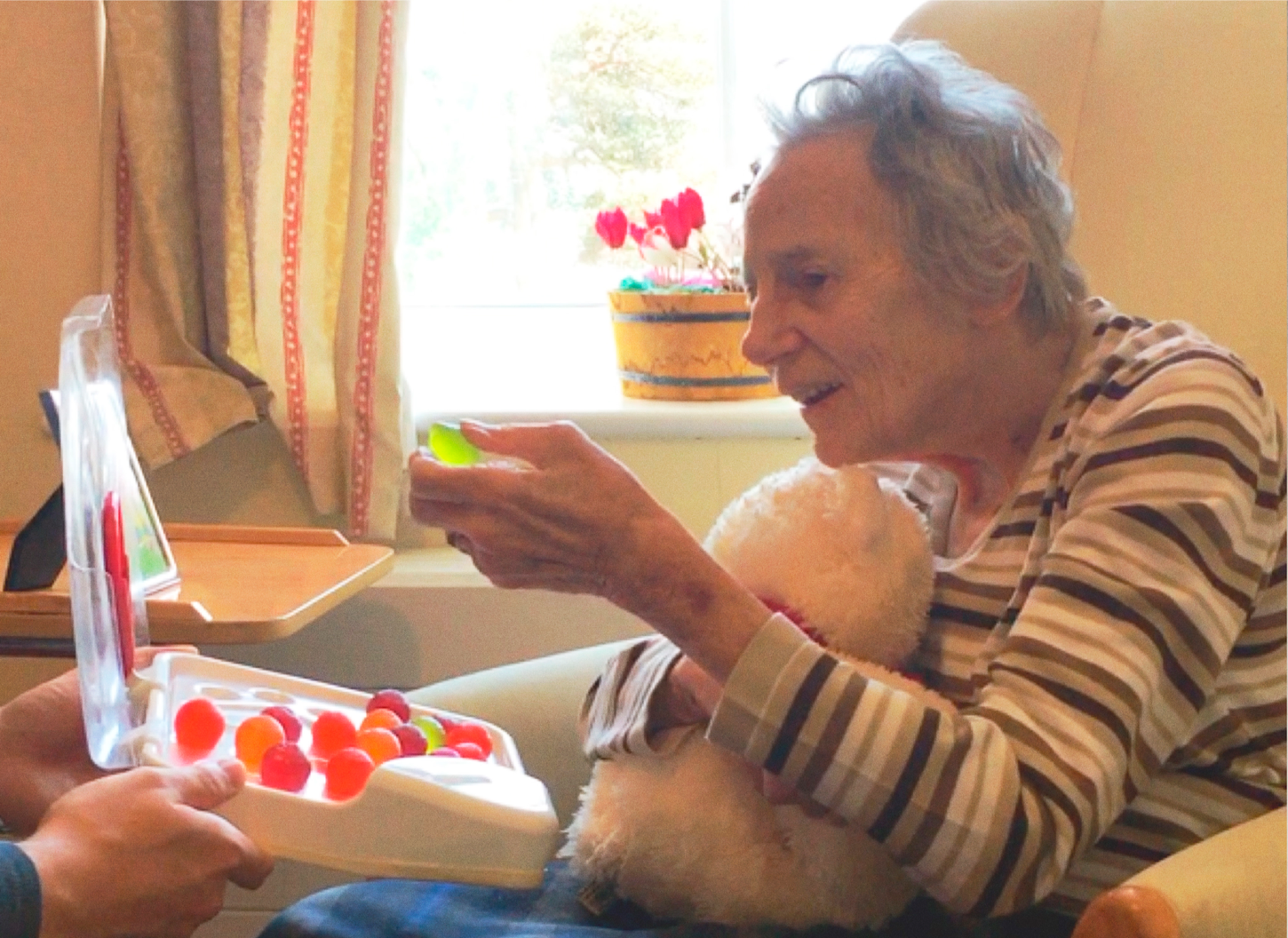 inventor of Jelly Drops for dementia