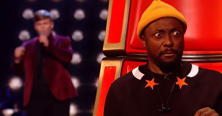 judge will.i.am looking shocked