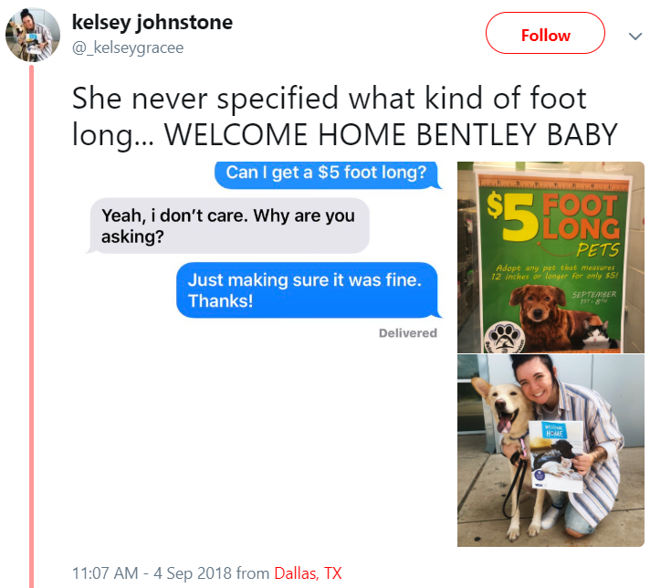 kelsey johnstone tweet