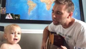 dad baby duet
