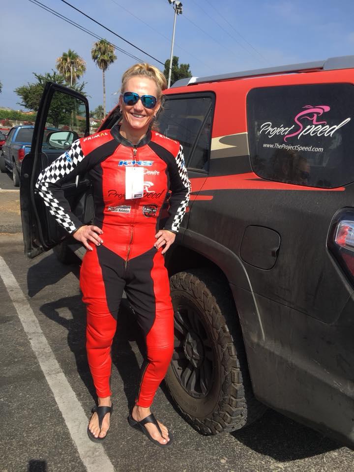 Denise Mueller Korenek Becomes World S Fastest Human On A