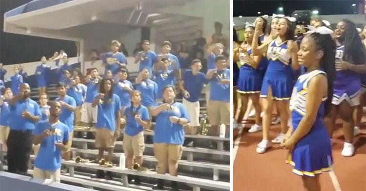 deaf cheerleader