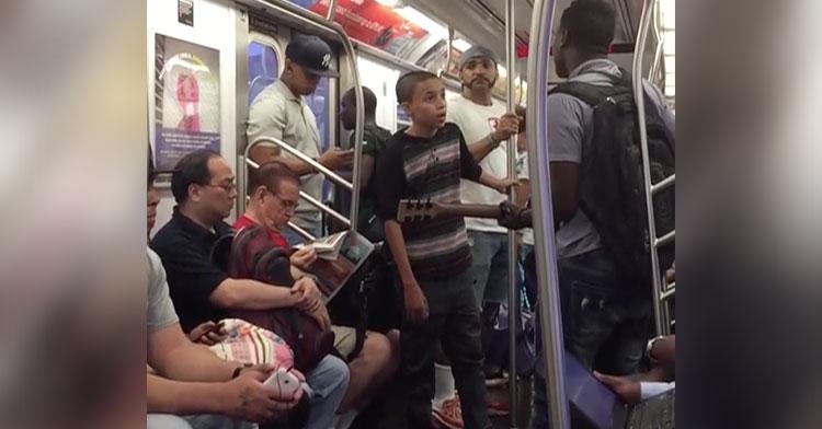 subway singing