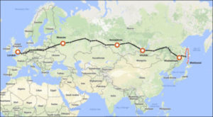extended trans siberian railway