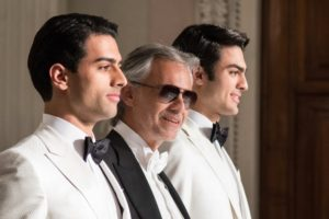 andrea bocelli and sons