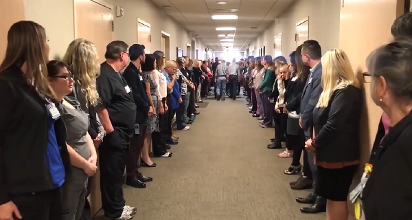 """Idaho Hospital Performs """"Walk Of Respect"""" For Organ Donor ..."""