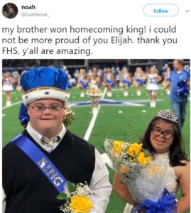 elijah crowned king