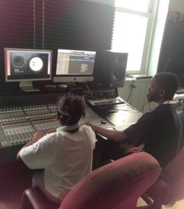 princess maji in studio