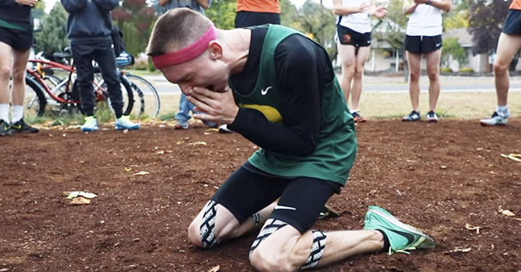 Video Captures Incredible Moment Runner With Cerebral Palsy Gets Pro Athlete Contract.