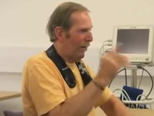 parkinsons man finger