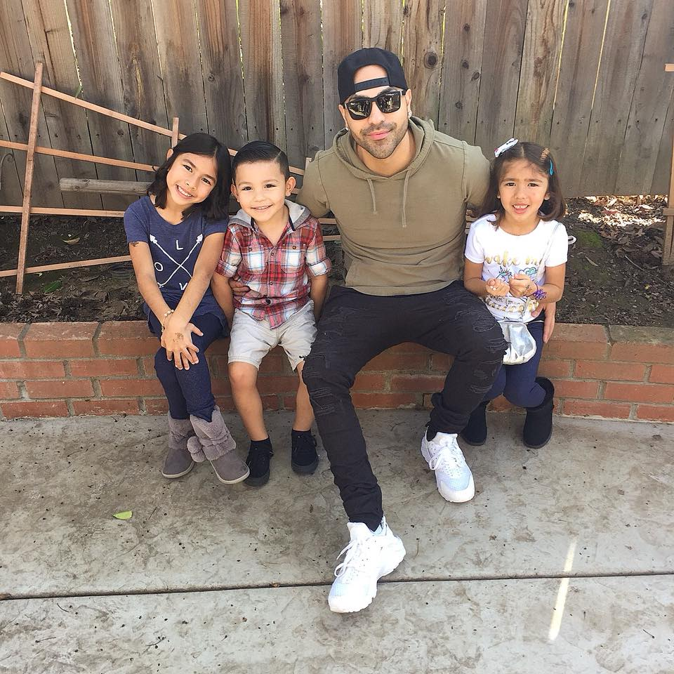 david fabila and kids