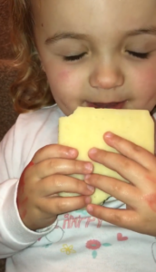 harriet-eating-cheese