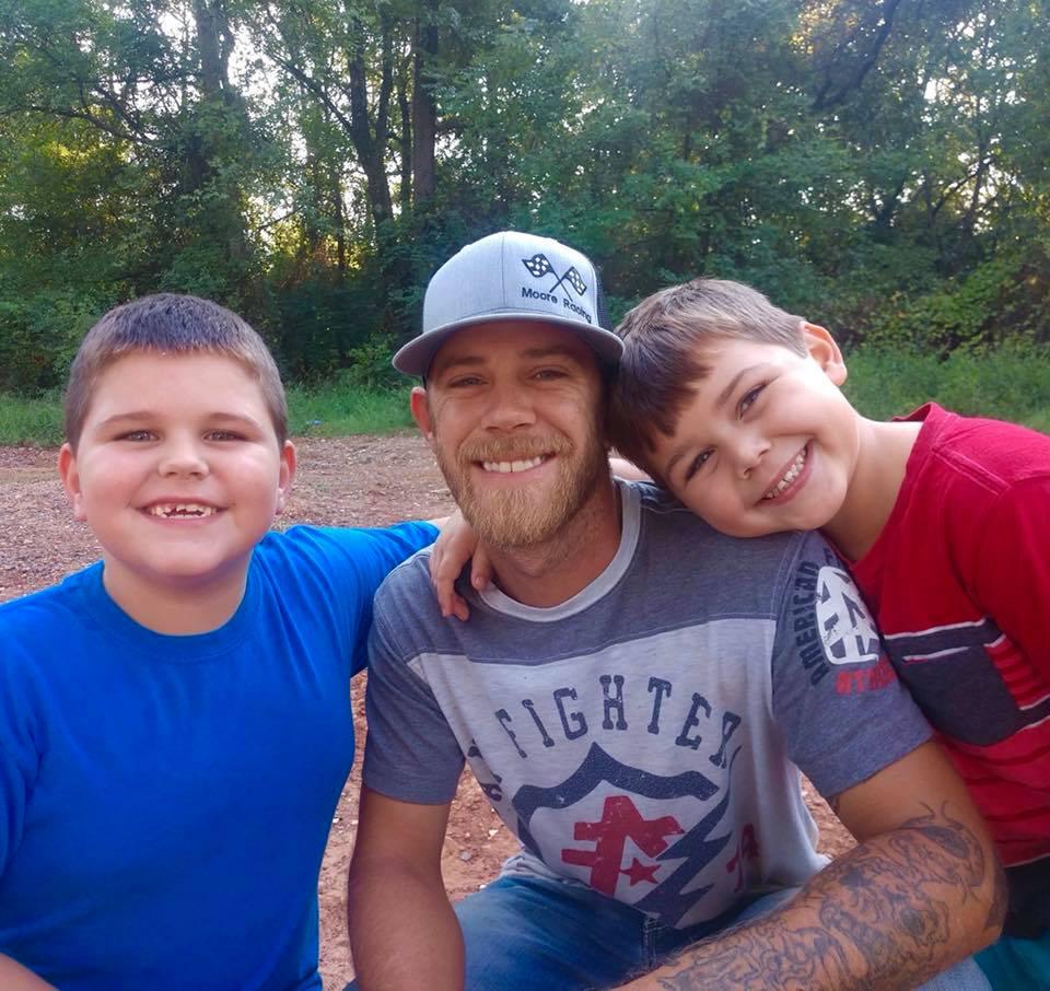 dillon and his kids
