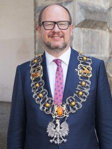 mayor paweł adamowicz