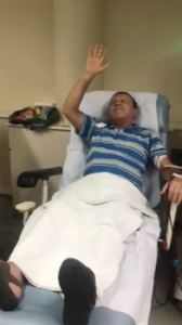 dialysis patient dances