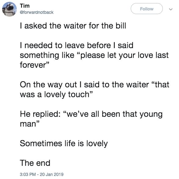 date tweet