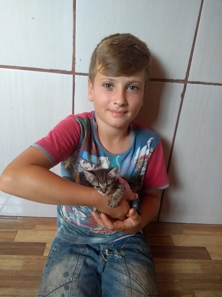 joão and his kitten