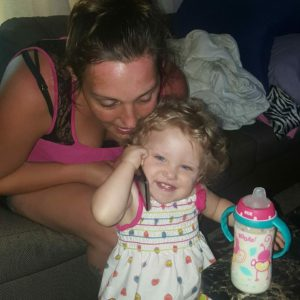 cassy and daughter