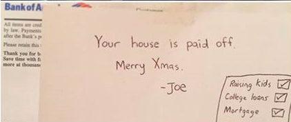 joe's note