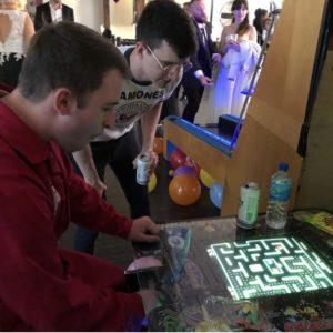 reception arcade games