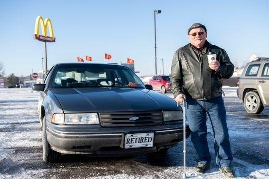 glenn and his car