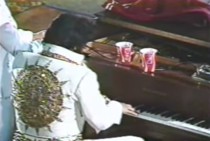 elvis plays the piano