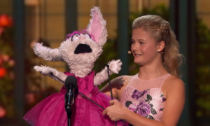 darci sings through petunia