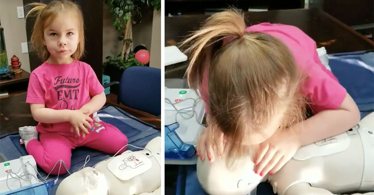 saige doing cpr