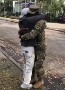 isaiah hugs josh