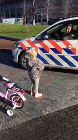 cop asks pomme to race