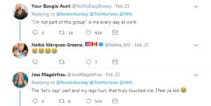 hockey video tweets