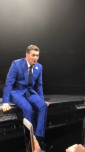 buble is stunned
